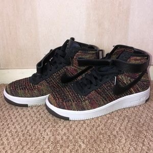 Nike Air Force One Fly Knit Multicolor
